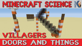 Minecraft Villagers, Doors, Breeding